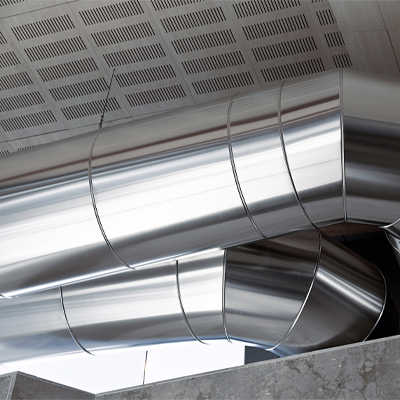 Commercial Heating Duct
